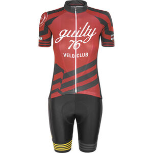 guilty 76 racing Velo Club Pro Race Set Women red bei fahrrad.de Online
