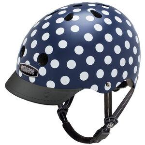 Nutcase Street Helmet Kinder navy dots navy dots