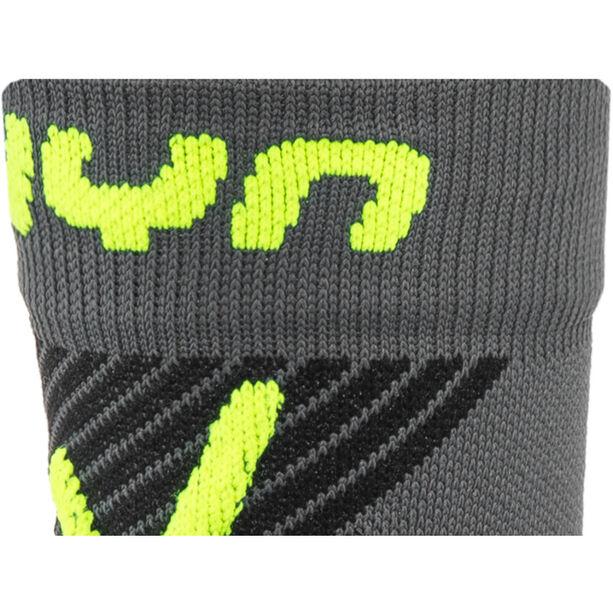 UYN Cycling MTB Light Socks Herren anthracite/yellow fluo
