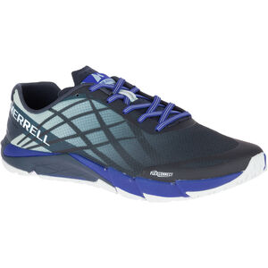 Merrell Bare Access Flex Shoes Men Blue Sport