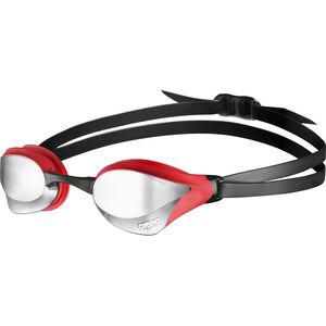 arena Cobra Core Mirror Goggles silver-red-black silver-red-black