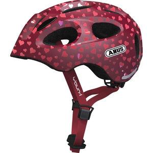 ABUS Youn-I Helmet Kinder cherry heart cherry heart