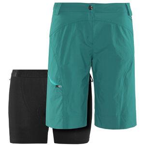 Löffler Comfort CSL Bike Shorts Damen emerald bei fahrrad.de Online