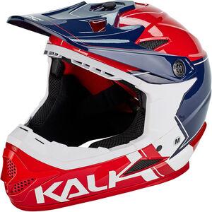 Kali Zoka Helm Herren rot/blau/weiß rot/blau/weiß