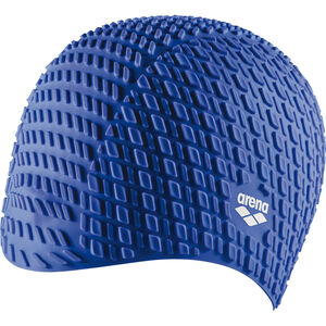 arena Bonnet Silicone Swimming Cap blue blue