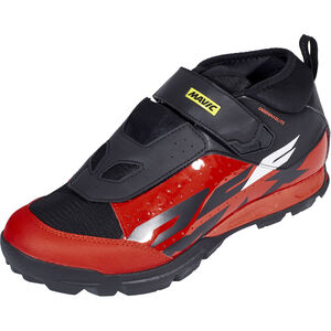 Mavic Deemax Elite Shoes black/fiery red/black