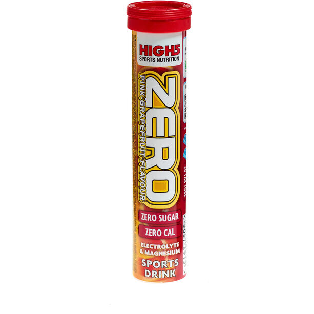 High5 Electrolyt Sports Drink Zero Tabs 20 Stück Pink Grapefruit