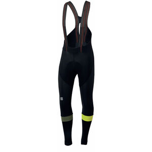 Sportful Bodyfit Pro Bibtights Men black/yellow fluo bei fahrrad.de Online