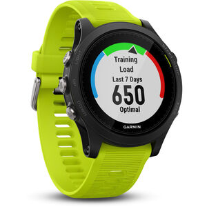 Garmin Forerunner 935 GPS Triathlon Uhr Bundle black/yellow black/yellow