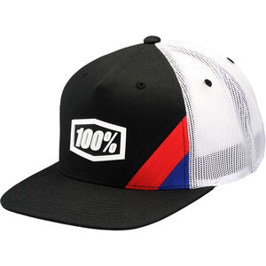 100% Cornerstone Trucker Hat black black