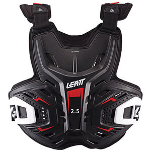 Leatt 2.5 Chest Protector black/red black/red