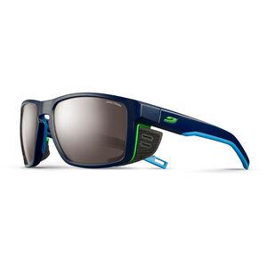 Julbo Shield Spectron 4 Sunglasses dark blue/blue/green-brown flash silver dark blue/blue/green-brown flash silver