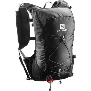 Salomon Agile 12 Backpack Set black black