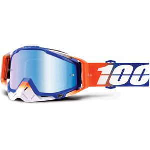 100% Racecraft Anti Fog Mirror Goggles roxburry roxburry