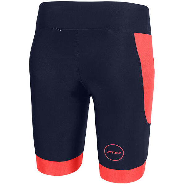 Zone3 Aquaflo Plus Shorts Damen navy/coral