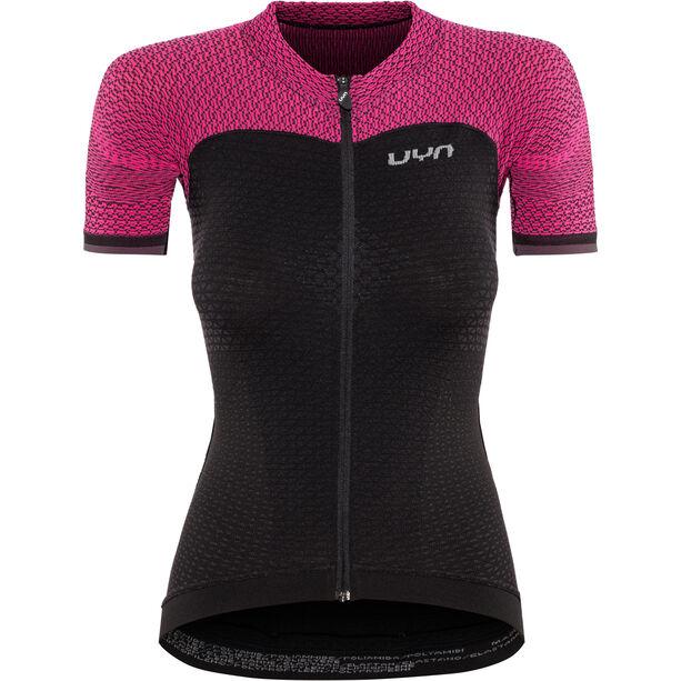 UYN Biking Alpha OW SS Shirt Damen blackboard/slush