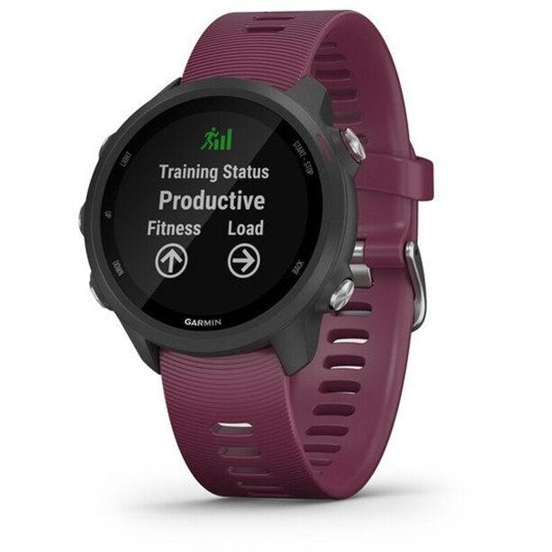 Garmin Forerunner 245 GPS Smartuhr black/merlot