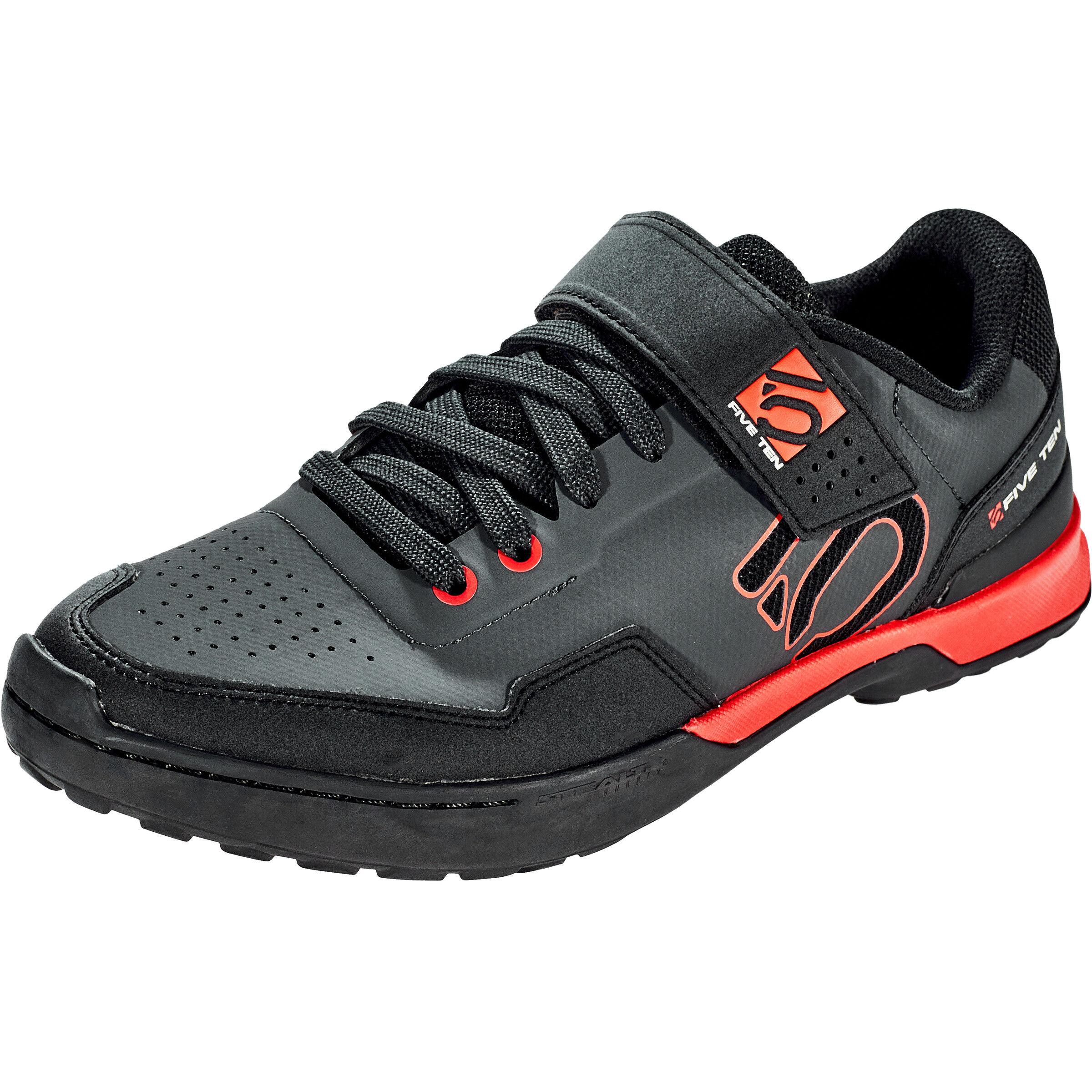 adidas Five Ten 5.10 Kestrel Lace Shoes Herren carboncore blackred