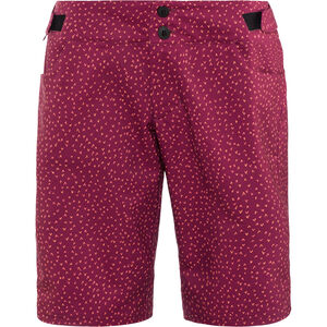 PEARL iZUMi Launch Print Shorts Damen beet red flicker beet red flicker