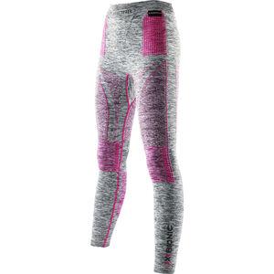 X-Bionic Accumulator EVO Melange UW Long Pants Women Light Grey Melange/Raspberry bei fahrrad.de Online