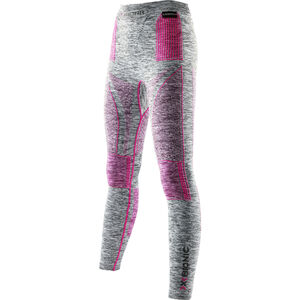 X-Bionic Accumulator EVO Melange UW Long Pants Women Light Grey Melange/Raspberry