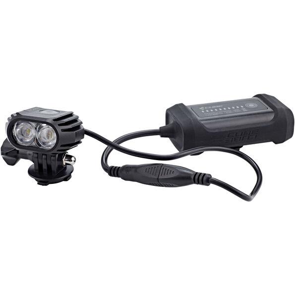 Cube HPA 2000 LED-Licht Helmlampe black