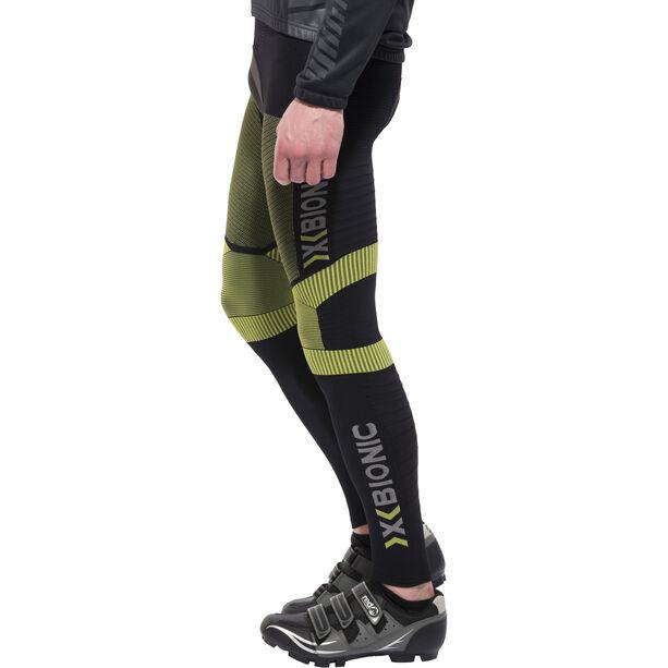 X-Bionic Effektor Power Biking Bib Tights Long Herren black/yellow