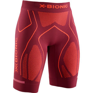 X-Bionic The Trick G2 Run Shorts Damen dark ruby/kurkuma orange dark ruby/kurkuma orange