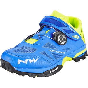 Northwave Enduro Mid Shoes Men blue/yellow fluo bei fahrrad.de Online