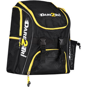 Dare2Tri Transition Backpack 23l black/yellow black/yellow