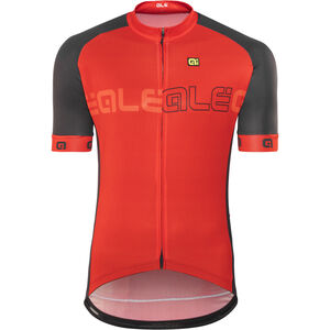 Alé Cycling Solid Block Shortsleeve Jersey Herren red-black red-black