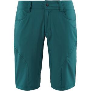 SQUARE Active Baggy Shorts inkl. Innenhose Damen petrol petrol