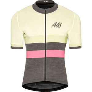 Alé Cycling Classic Vintage SS Jersey Herren white white