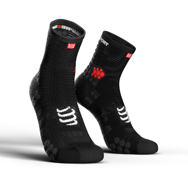 Compressport Pro Racing V3.0 Run High Socks black