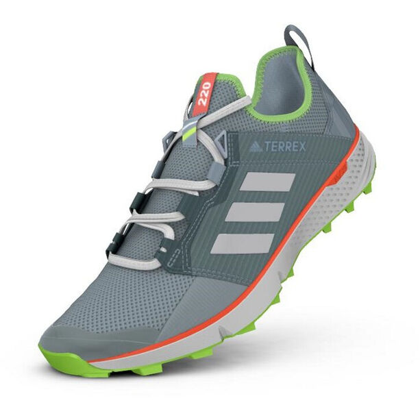 adidas TERREX Speed LD Schuhe Damen ash grey/footwear white/signal green
