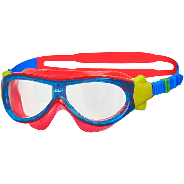 Zoggs Phantom Mask Kinder blue/red/clear