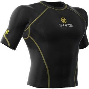 Skins Bio Sport Top Short Sleeve Men Herren black black