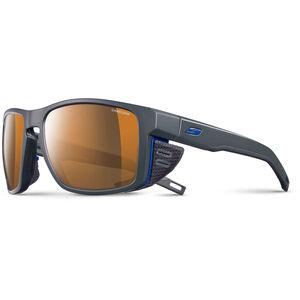 Julbo Shield Cameleon Sunglasses dark gray/black/blue-brown dark gray/black/blue-brown