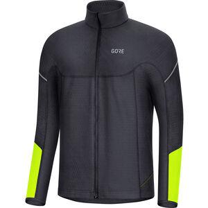 GORE WEAR M Thermo Langarm Zip Shirt Herren black/neon yellow black/neon yellow