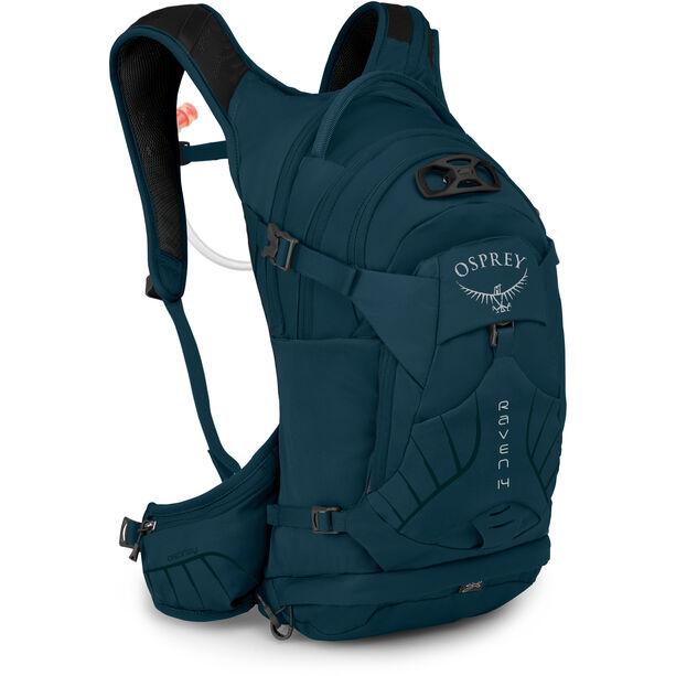 Osprey Raven 14 Hydration Backpack Damen blue emerald