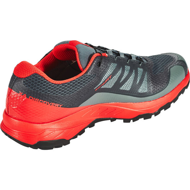 Salomon XA Discovery GTX Shoes Herren stormy weather/high risk red/black