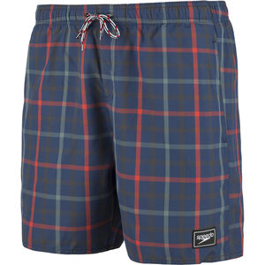 "speedo Check Leisure 16"" Watershorts Herren navy/red navy/red"