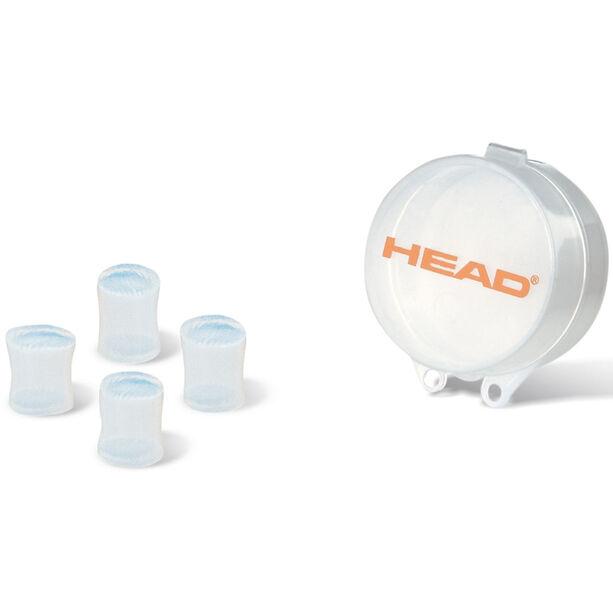 Head Silicone Moulded Ear Plug clear