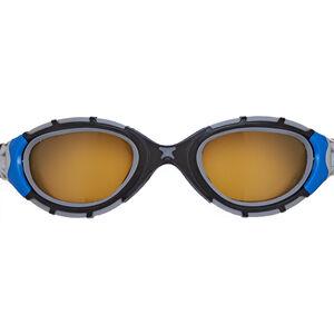 Zoggs Predator Flex Polarized Ultra Reactor Goggles M blue/metallic silver/copper blue/metallic silver/copper