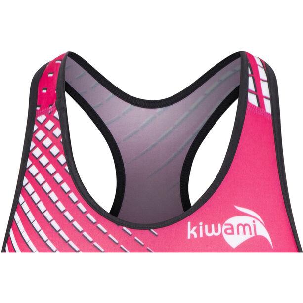 KiWAMi Prima Openback Suit Damen black/pink