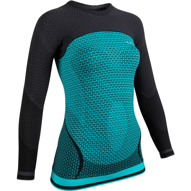 UYN Running Alpha OW Langarmshirt Damen green jewel/charcoal