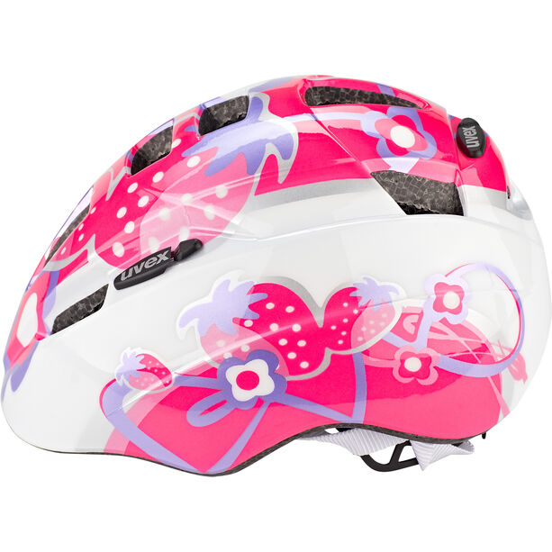 UVEX Kid 2 Helm Kinder pink strawberry