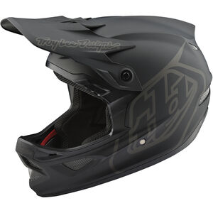 Troy Lee Designs D3 Fiberlite Mono Helmet black black