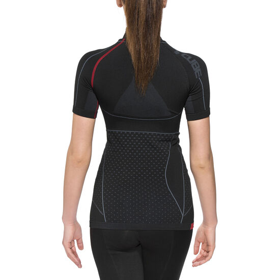 Cube Cold Conditions Blackline Funktionsunterhemd kurzarm Damen bei fahrrad.de Online
