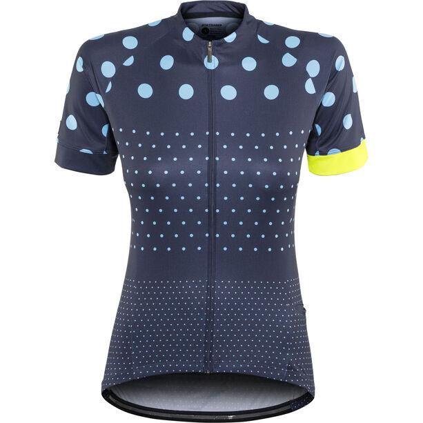 Bontrager Anara LTD Cycling SS Jersey Damen deep dark blue/azure